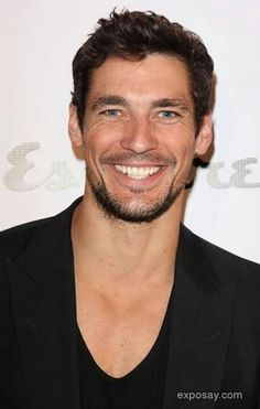 To meet with super model David Gandy. The most stylish man off the world.