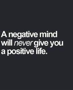 positive mind=positive life