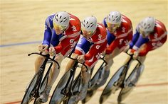 Gold + world record for team GB at the Track Cycling World Championships!