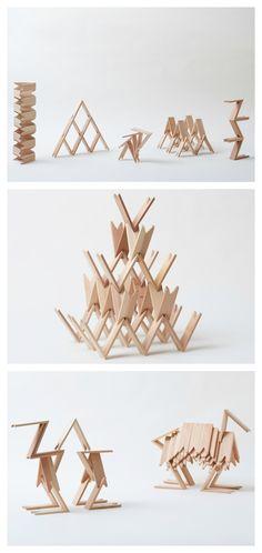 Kengo Kuma's Building Blocks
