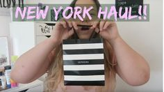 NEW YORK AND COLLECTIVE HAUL - Sephora, Mac, Selfridges and More..! | Sa...