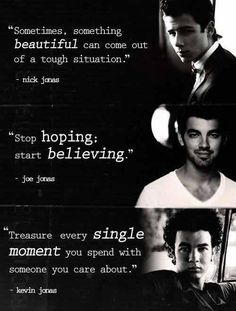 The @Jonasbrothers is My Inspiration! I Love you @nickjonas @joejonas @kevinjonas!!!!!!!!!!