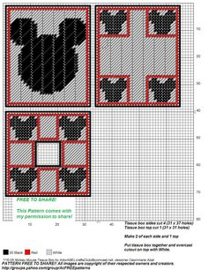 Mickey Mouse Plastic Canvas Patterns Pictures to Pin on . Plastic Canvas Coasters, Plastic Canvas Ornaments, Plastic Canvas Tissue Boxes, Plastic Canvas Christmas, Plastic Canvas Crafts, Plastic Canvas Patterns, Plastic Craft, Box Patterns, Craft Patterns