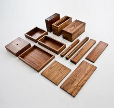 OnOurTable, a beautiful collection of kitchen and dining room objects handcrafted from solid wood.