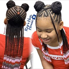 Best Picture For Kids Hairstyles for picture day For Your Taste You are looking for something, and it is going to tell you exactly what you are looking for, and you didn't find that picture. African Hairstyles For Kids, Baby Girl Hairstyles, Natural Hairstyles For Kids, Dance Hairstyles, Kids Braided Hairstyles, My Hairstyle, Children Hairstyles, Little Girl Braids, Black Girl Braids