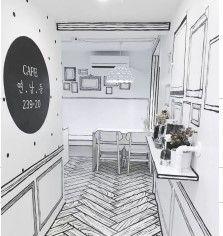 Dark Interiors, Rustic Interiors, Design Studio, Cafe Design, Design Design, Design Furniture, Plywood Furniture, Korean Coffee Shop, Seoul Cafe