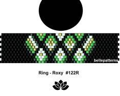 peyote ring pattern,PDF-Download, #122R, beading pattern, beading tutorials, ring pattern