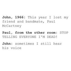 "I DO NOT BELIEVE IN THE ""PAUL IS DEAD"" HOAX!"