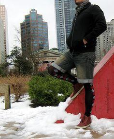 Black Opaque Tights with Argyle pattern Колготочный Наряд, Леггинсы Мода, Уличная Мода, Мужская Мода, Мужская Осенняя Коллекция, Женская Мода, Мужские Стили, Мужской Наряд, Брюки