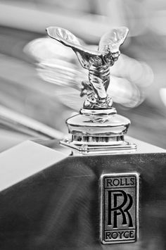1952 Rolls-Royce Silver Wraith Hood Ornament