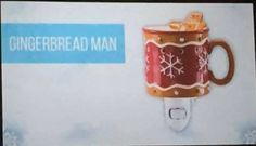 Scentsy 2017 fall winter warmers. This is Gingerbread man plug in. a must have in this household.