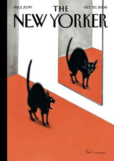 The New Yorker's Cover by Ian Falconer, Oct. 30 2006 -- The New Yorker has a long tradition of beautiful, witty and varied covers created by some of the world's best illustrators and cartoonists.