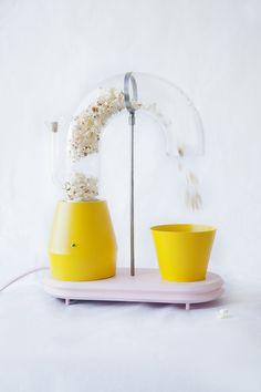 Jolene Carlier's playful popcorn machine