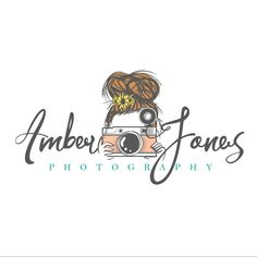 Amber Jones Photography first logo experience! by katie_kat