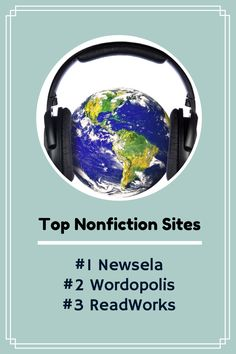 3 Nonfiction Sites Every Teacher Should Know About! Find more tips at https://www.pinterest.com/elaseminars/15-five-minute-teaching-tips/  or have lessons delivered to your inbox at http://elaseminars.com/opt-in-1.htm