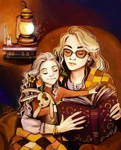 Luna and her mother