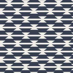 Tomahawk Stripe,  Arizona Collection,  Aztec Fabric, Art Gallery Fabrics, April Rhodes, Navy and White Fabric, ARZ-551 by OyeBabyFabrics on Etsy https://www.etsy.com/listing/273642036/tomahawk-stripe-arizona-collection-aztec