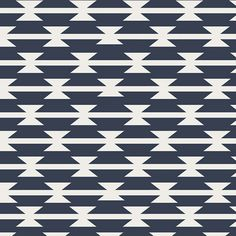 Tomahawk Stripe,  Arizona Collection,  Aztec Fabric, Art Gallery Fabrics, April Rhodes, Navy and White Fabric, ARZ-551 by OyeBabyFabrics on Etsy https://www.etsy.com/listing/273642036/tomahawk-stripe-arizona-collection-aztec