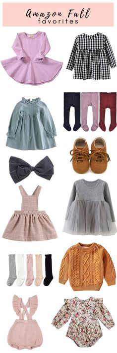 a760efbc67814 The Cutest Amazon Finds For Fall Toddlers & Baby Girls. Cute Toddler Girl  ClothesCheap Kids ...