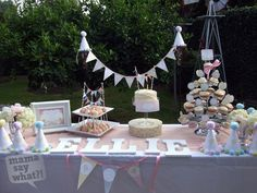 Cake & sweets table <3
