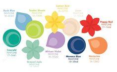 Pantone ten color choices for Spring 2013