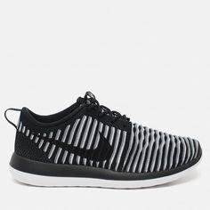 Женские кроссовки Nike Roshe Two Flyknit Black/White