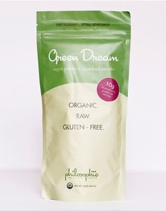 Green Dream is composed of plant-based proteins—nature's purest ingredients—and an amazing blend of superfoods that provide a natural, caffeine-free power...