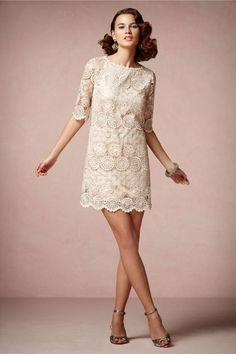 Vintage Hochzeitskleid: Alte Spitze