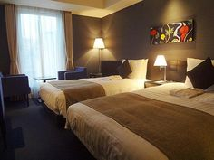 Gate Hotel Asakusa Twin Room (24 sqm) ~USD165/night | Photo Credit: Agoda | Near Asakusa Station