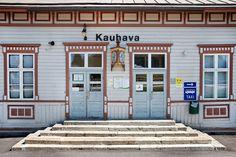 Kauhava railway station (1884) (Kauhava, South Ostrobothnia province of Western Finland) - photo Sameli Kujala Trotter, Genealogy, Trains, Roots, Scandinavian, Globe, Houses, Culture, Traditional