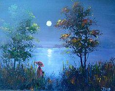 Obrazy - kouzelná noc - 8177739_