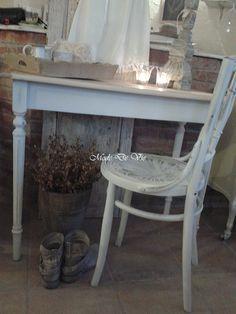Biurko albo konsola a może stolik......w parze z krzesłem - Nasze meble - Nasza galeria - Mode De Vie