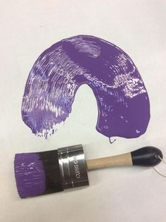 2018 Ultra Violet chalk furniture paint by Superior Paint Co.