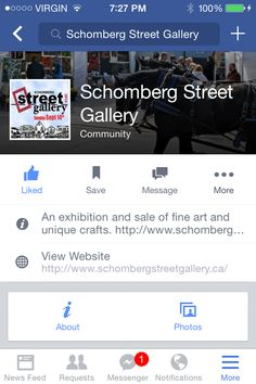 Come join me & many more artists at the Schomberg Street Gallery on Sept. 14 check out the website for more information!!