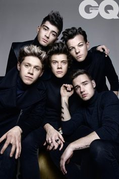 One Direction for GQ