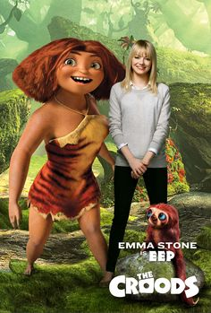 Emma Stone as Eep in The Croods