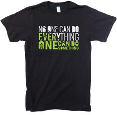 No One Can Do Everything - Unisex Organic Cotton T-shirt