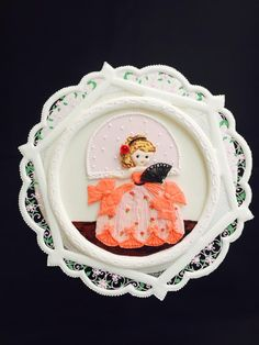 Cutie+Princess+in+Royal+Icing+-+Cake+by+Prachi+DhabalDeb