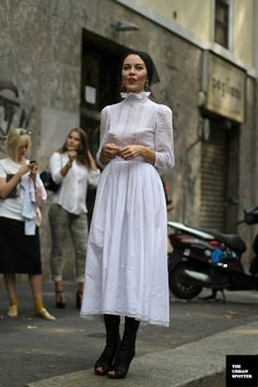 On the Street…..Ulyana Sergeenko