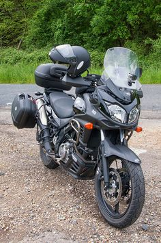 https://flic.kr/p/riLdNB | L'actuelle | 2012 - 650 Suzuki DL V-Strom (bicylindre en V 4 temps)