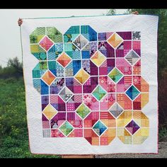Leaded Glass Quilt