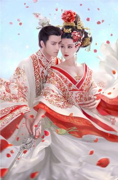 武则天 The Empress of China - 2015 Chinese TV drama starring Fan Bing Bing & Aariff Lee Traditional Fashion, Traditional Chinese, Chinese Style, Chinese Art, Traditional Outfits, Chinese Fashion, Hanfu, Cheongsam, The Empress Of China