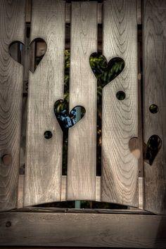 Corazones en madera ❤️