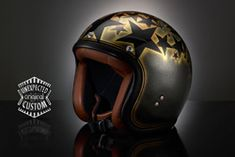 Open face custom helmet Stardust