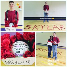 Best Volleyball  Promposal Everrrrrrr!  Roses are red  the other girls got swerved.  Will you Kill it at Prom with me?  Cuz you just got Served!