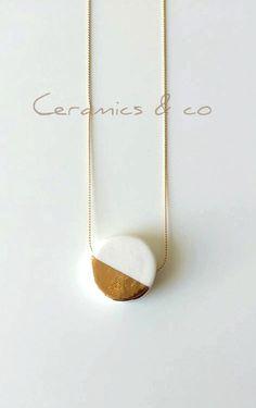 """Colgante de porcelana """"Lustre"""", cerámica"""