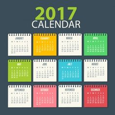 Plantilla de calendario de 2017                                                                                                                                                                                 Más