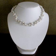 Hey, I found this really awesome Etsy listing at http://www.etsy.com/listing/99889311/bridal-pearl-and-crystal-necklace