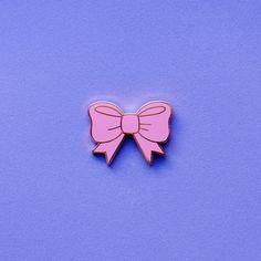 Bow Pin https://www.etsy.com/uk/listing/265223782/enamel-pin-bow