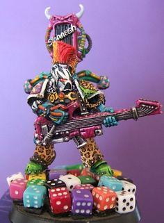 Warhammer 40000,warhammer40000, warhammer40k, warhammer 40k, ваха, сорокотысячник,фэндомы,Chaos (Wh 40000),Miniatures (Wh 40000),Noise Marines,Slaanesh,Old Warhammer,под катом еще